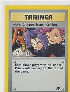 Pokémon Trainer 72//82 Team Rocket New 1999-2000