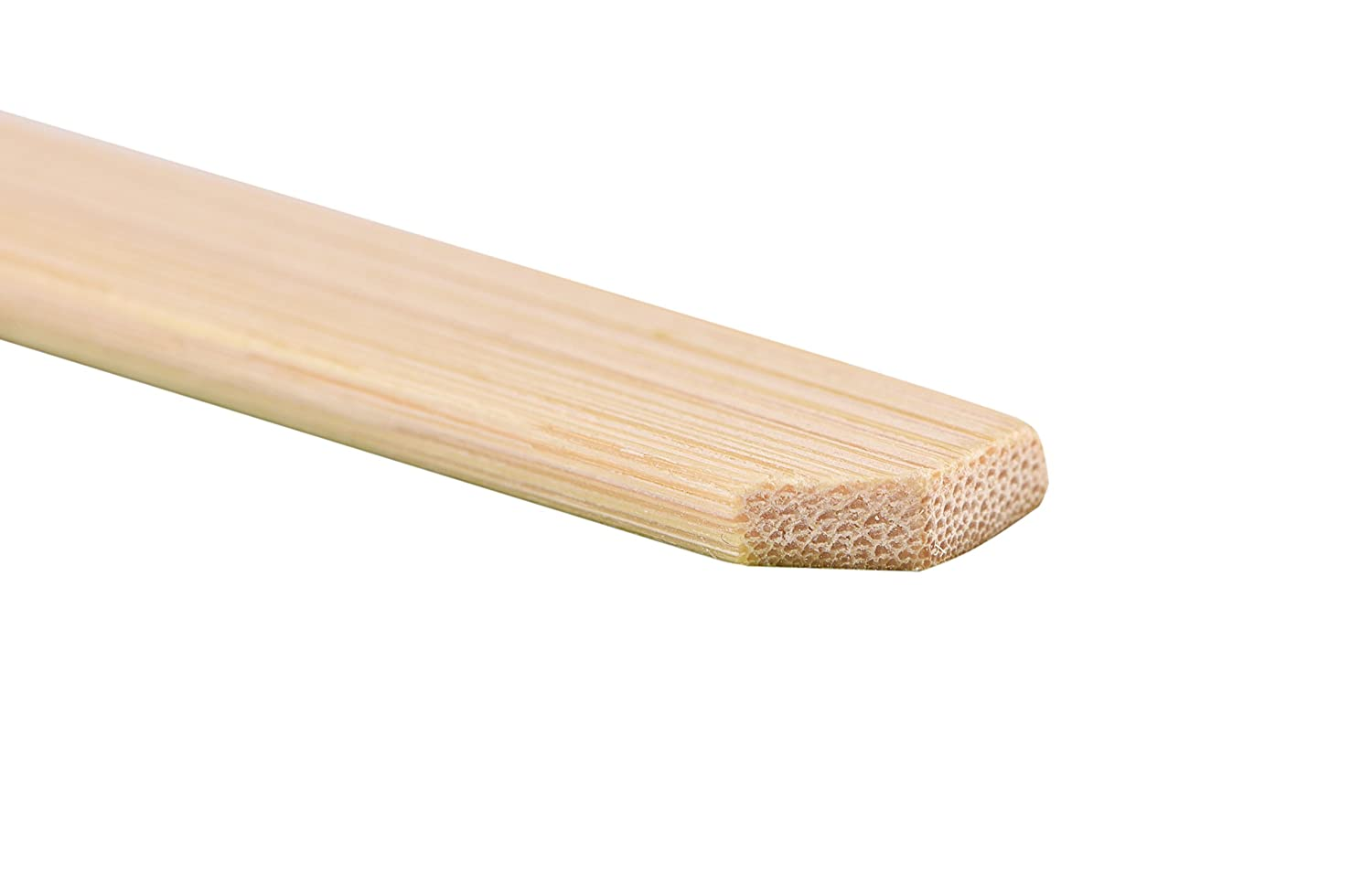 Ahyapiner 8 Inch Natural Bamboo Skewers 100 Pcs BBQ Skewers Grill Party Sandwich Cocktail Paddle Sticks
