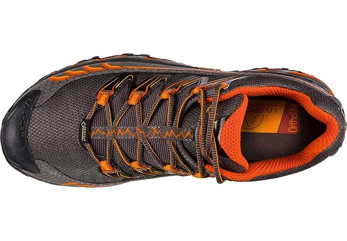 Amazon.com | La Sportiva Ultra Raptor GTX Carbon/Pumpkin Talla: 45.5 | Trail Running