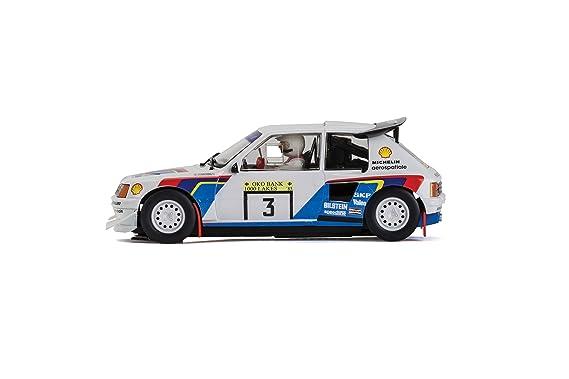 Scalextric Peugeot 205 T16 - Carcasa para Coche (Escala 1:32): Amazon.es: Juguetes y juegos