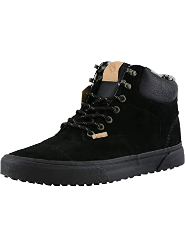 b818619f99f2b7 Vans Era Hiker MTE Ca Pig Suede and Fleece Black Ankle-High Leather Fashion  Sneaker - 10M 8.5M  Amazon.co.uk  Shoes   Bags