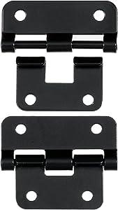 Reliable Hardware Company RH-1225BK-2-A Black Take-Apart/Lift Off Hinge - Set of 2