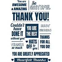 Thank You: Thanks For All You Do Notebook Journal