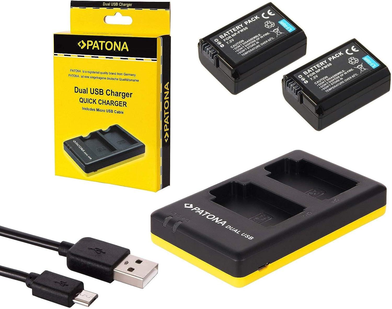 Sony Alpha 6000 6300 6500 Zubehör Set Mit 2 Ersatzakkus Kamera