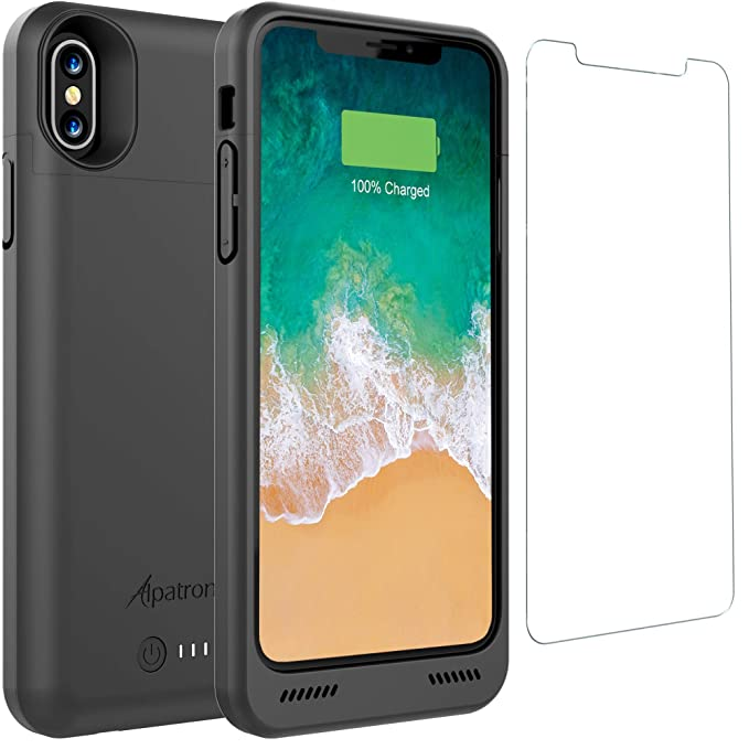 Able 5000mah Portable Backup Power Magnetic Ring Battery Charger Case Power Bank Charging Cases Cover For Iphone X Battery Case Battery Charger Cases Cellphones & Telecommunications