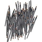 TRYAH 50 Pieces Disposable Lip Brushes Multifunctional Makeup Brush Lip Gloss Wands Applicator Tool Makeup Beauty Tool Kits