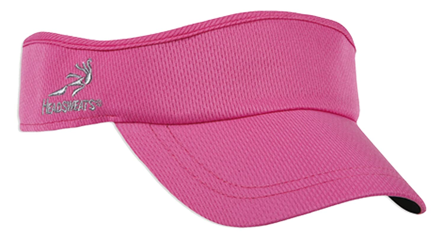 7714 269 Headsweats Velocity Visor Hot Pink One Size