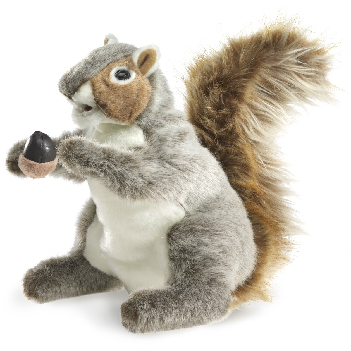 Folkmanis Gray Squirrel Hand Puppet Folkmanis Puppets 2553