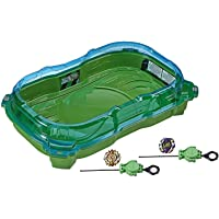 BEYBLADE Burst Turbo Slingshock Cross Collision Battle Set -- Complete Set with Burst Beystadium, Battling Tops, & Launchers -- Age 8+