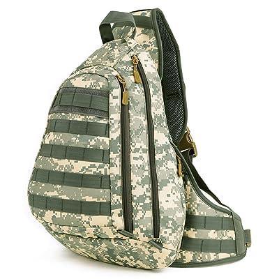 HWDSBXN Dos gros sac à poitrine, sac à bandoulière Sac à dos de randonnée Outdoor Camping