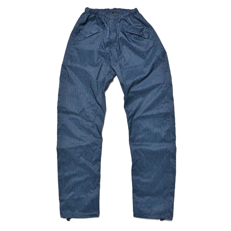 カジメイク レインパンツ 上下 EDWIN エドウィン 防水パンツ メンズ レディース おしゃれ かっこいい 防水 軽量 通勤 通学 レインウエア EW-510 ズボン B075TVRDHMデニム LLサイズ