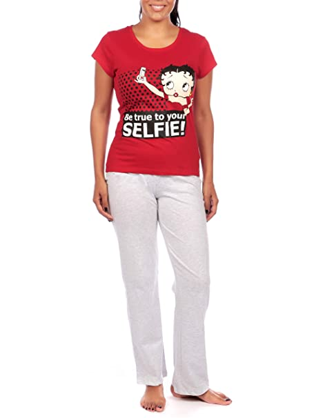 Amazon.com: Betty Boop - Pijama para mujer: Clothing