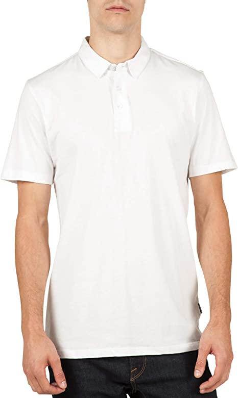 Volcom Mens Wowzer Short Sleeve T Shirt White L: Amazon.es: Ropa ...