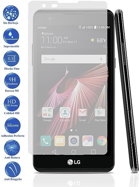 Todotumovil Protector de Pantalla LG X Power de Cristal Templado ...