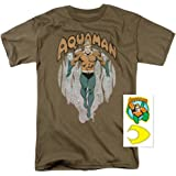 Popfunk Aquaman DC Comics King of Atlantis T Shirt & Exclusive Stickers