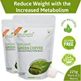 Neuherbs Organic Green Coffee Beans for Weight Management 200g+25g Free (Pack of 2)