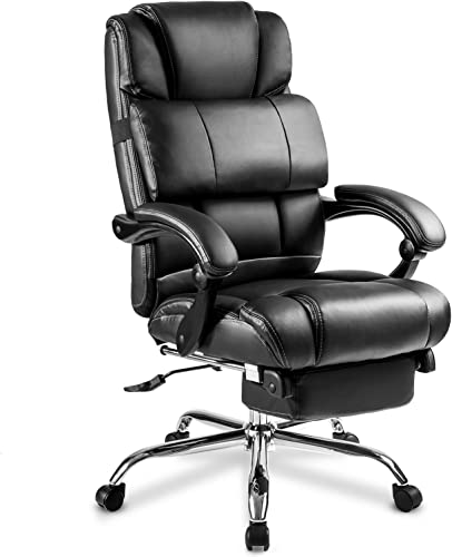 Merax Portland Technical Leather Big & Tall Executive Recliner