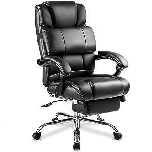 Merax Portland Technical Leather Big Chair