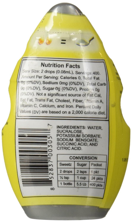 Liquid Splenda Nutrition Facts Besto Blog