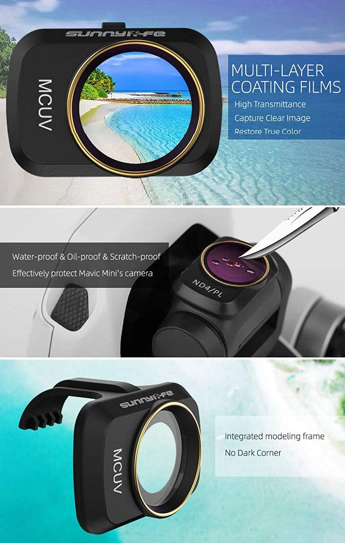 Sunnylife Royal Mini Filter ND CPL NDPL MCUV Filter Mavic Mini Accessories ND32//PL