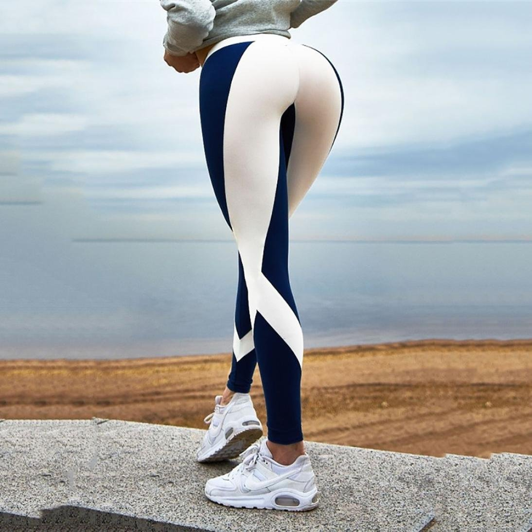 Amazon.com: Mallas para mujer, Mikey Store compresión ...