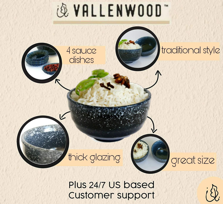 Rice bowls set