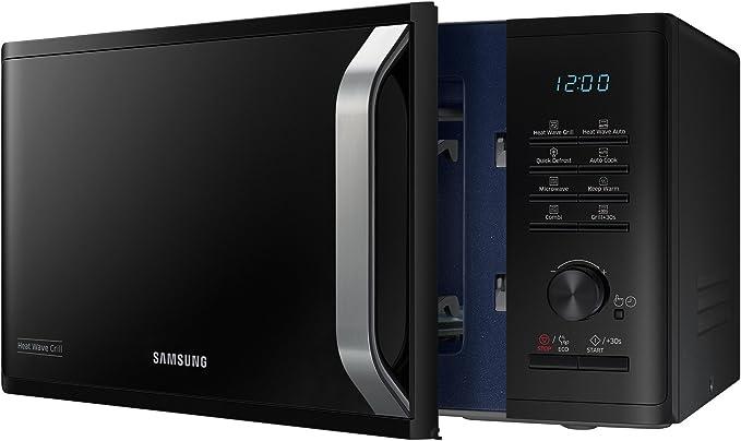 Microondas SAMSUNG mg23 K3575ck Capacidad de 23 L 800 W Negro ...