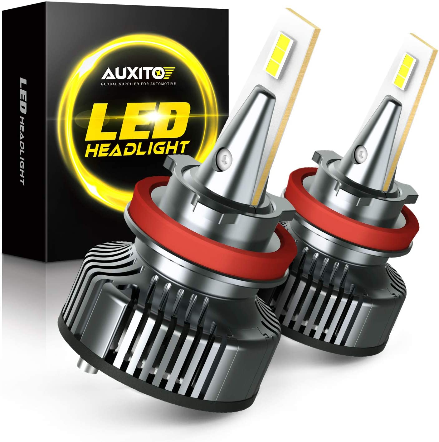 Auxito H11 Headlight Bulbs