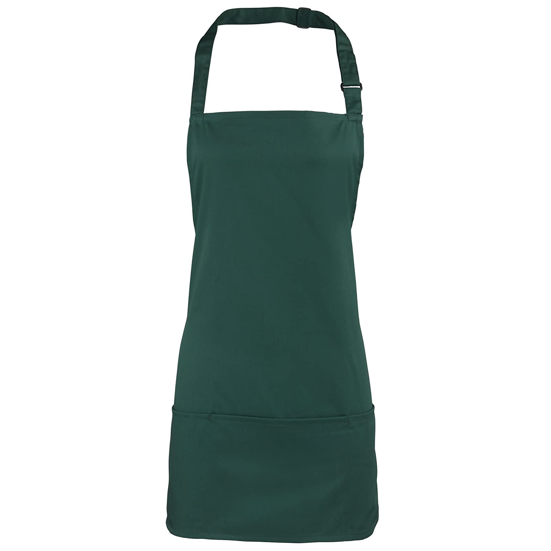 Premier Colours 2-in-1 Apron / Workwear (One Size) (Emerald) UTRW1074_8
