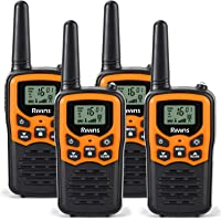 $38 » Rivins RV-7 Walkie Talkies for Adults Long Range 4 Pack 2-Way Radios Up to 5 Miles Range in Open…