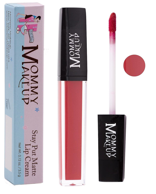 Stay Put Matte Lip Cream | Kiss-Proof Matte Lipstick - Paraben Free - Marilyn, a true classic red