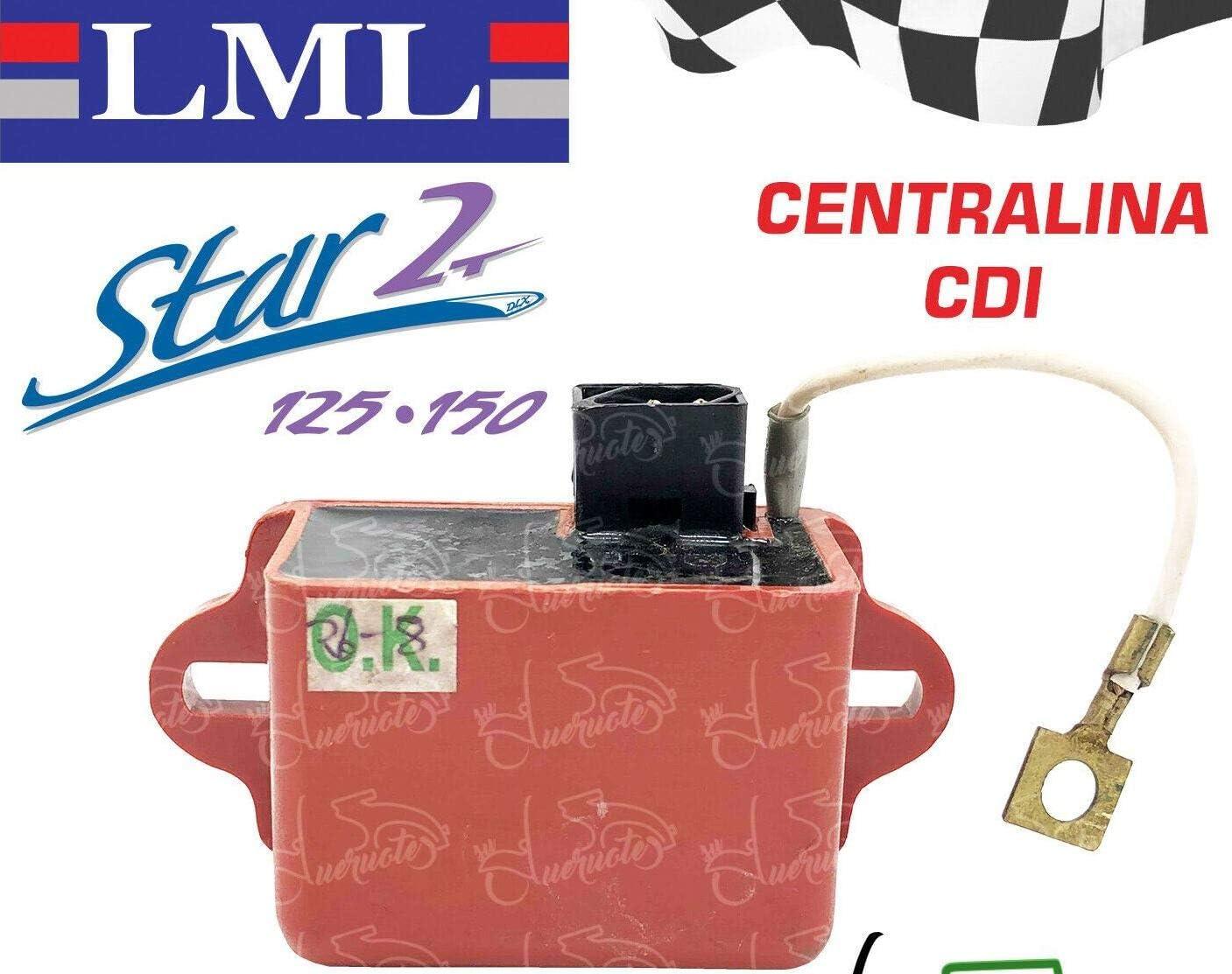 CENTRALINA BOBINA DI ACCENSIONE ELETTRONICA PER LML STAR 125 150 2 TEMPI DELUXE