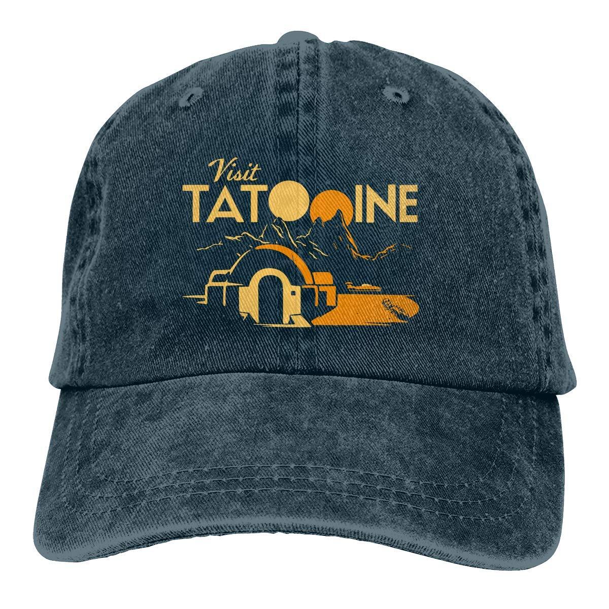 Visit Tatooine Unisex Baseball Hat Cowboy Cap Sun Hats Trucker Hats