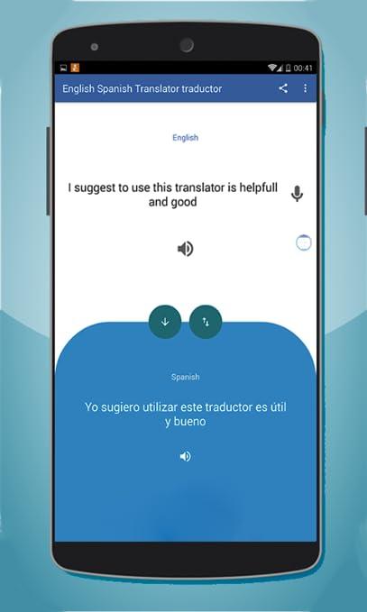 Amazon com: Engligh Spanish Traductor translator: Appstore