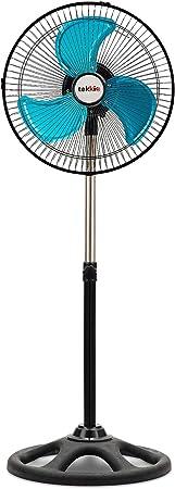 Ventilador de Pie Giratorio Regulable