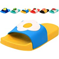 Femizee Colorful Fruit Boys Girls Slide Sandals Summer Beach Pool Bath Slippers(Toddler/Little Kid)