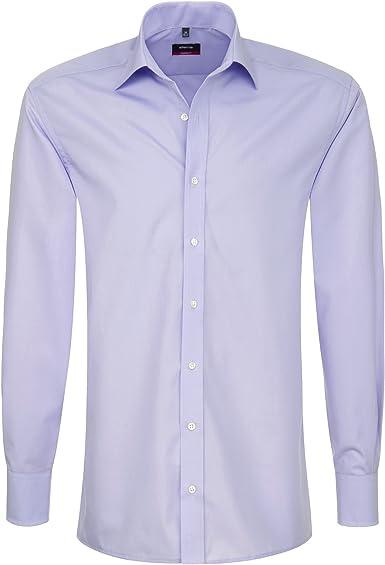 Eterna Modern Fit Camisa Lila 1100/X177/92 Flieder 42: Amazon ...