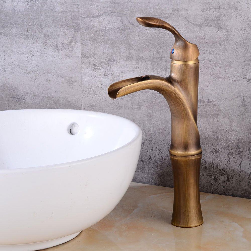 Tap-Sink Tap European Basin, High Faucet, Waterfall, Hot Water, Hot Tap Water, Water Faucet
