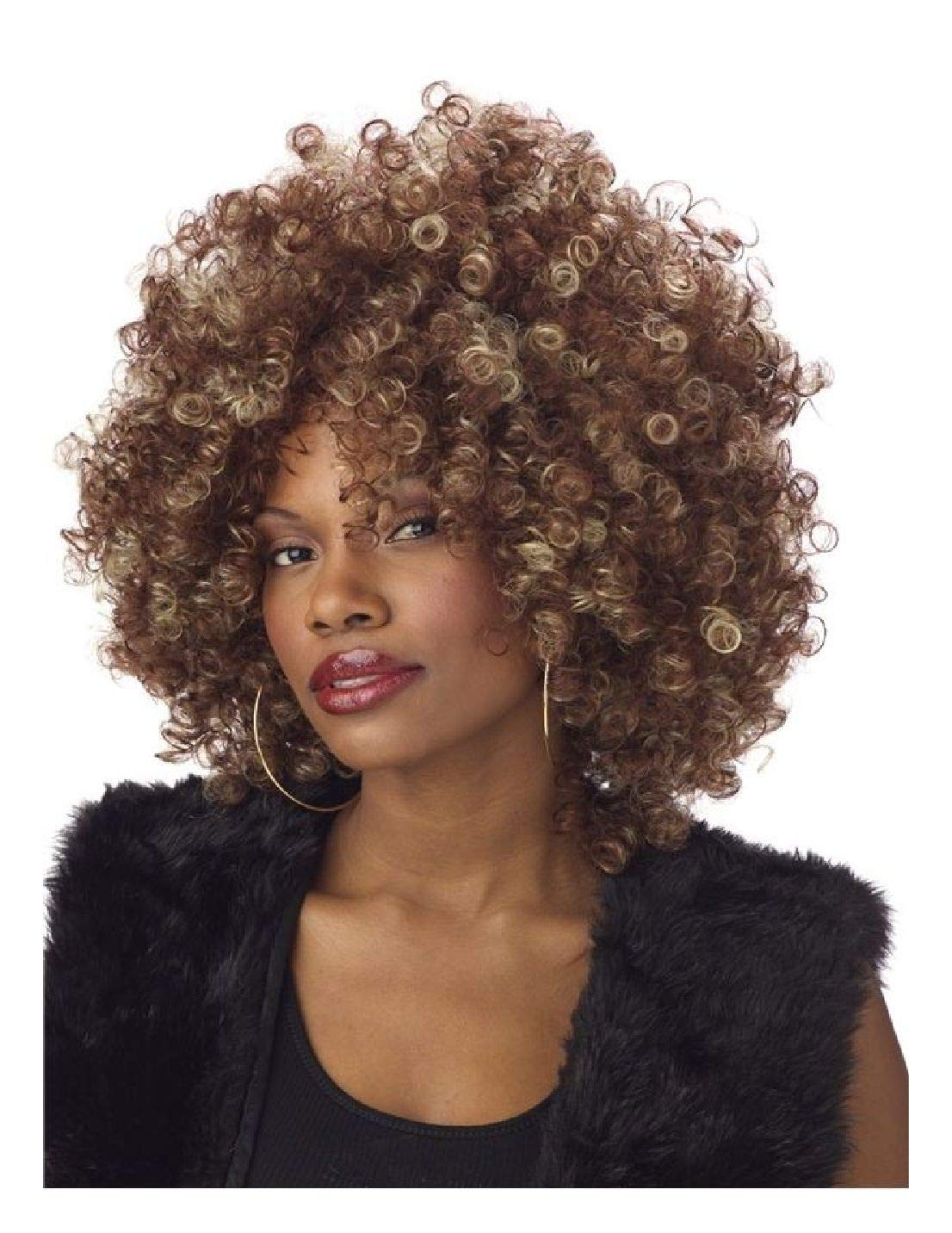 Ovedcray Costume series Fine Foxy Fro Wig
