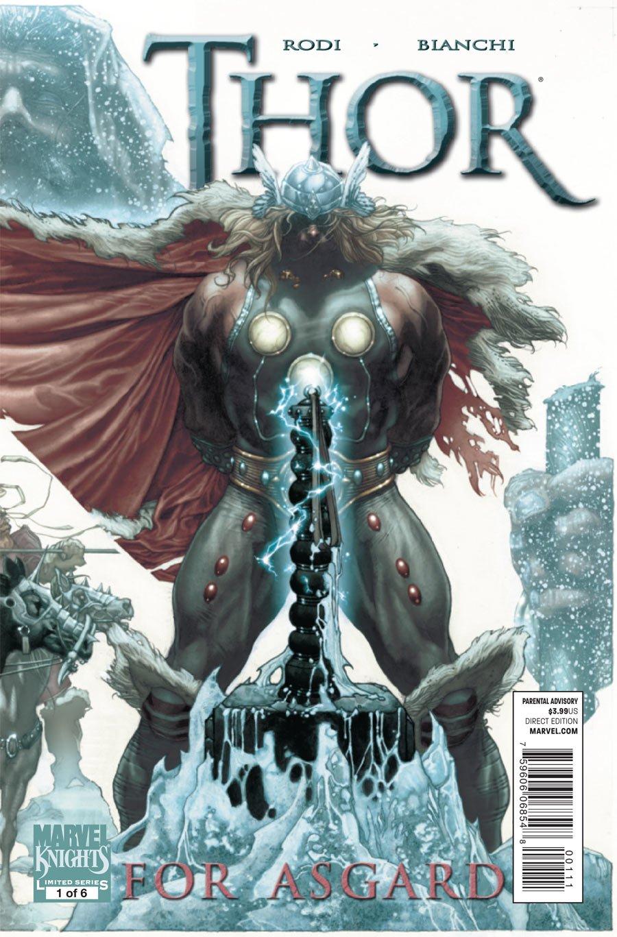 Thor For Asgard #1 pdf