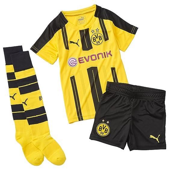 PUMA - Juego Mini Local del Borussia Dortmund con Conjunto de bebé para niños