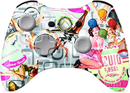 XBOX 360 Controller Wireless chicas Pinup brillante Painted ...