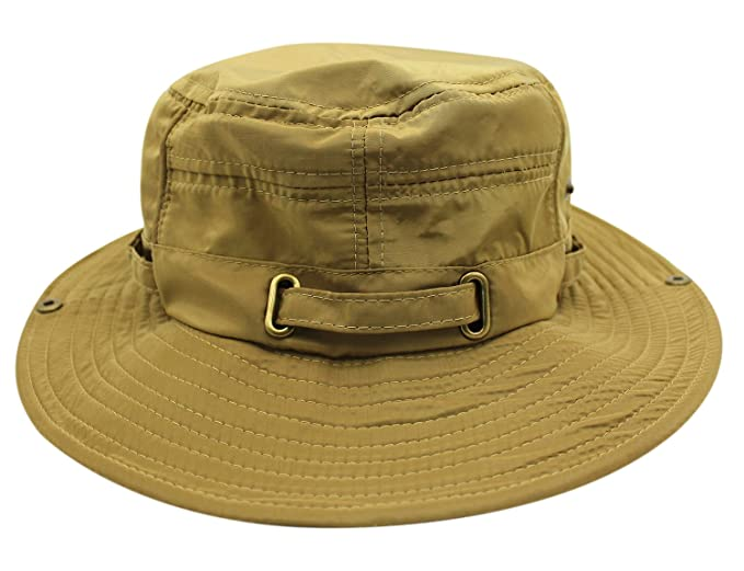 Unisex Summer Outdoor Bucket Hat Wide Brim UV Protection Cap at ... 23518e5ec30