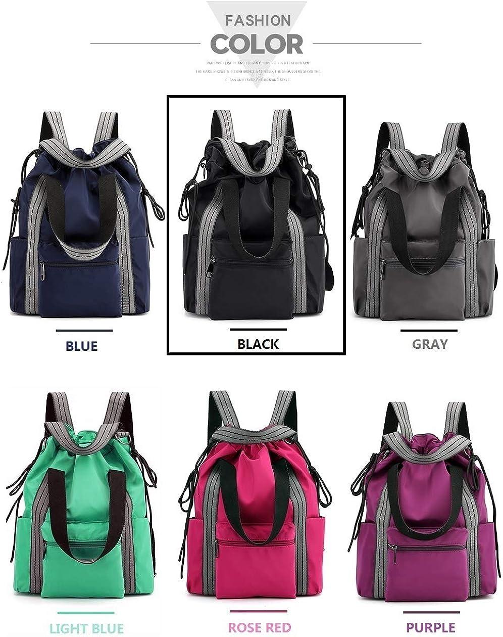 Lightweight Large Capacity Laptop Backpack Tote Bags Shoulder Bag