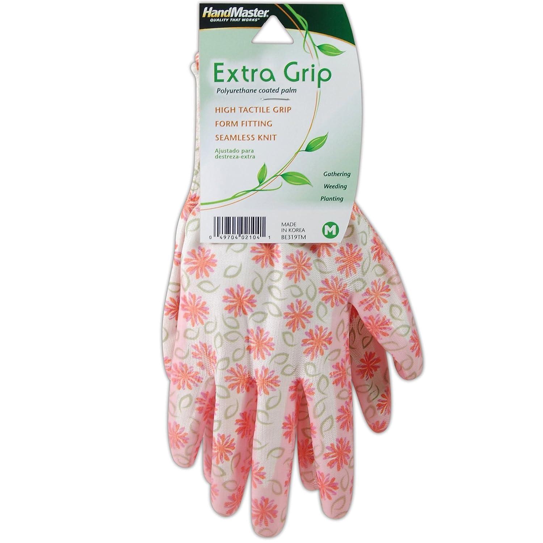 Pink Magid BE318T Bella Floral Nitrile Glove Medium Magid Glove BE318TM