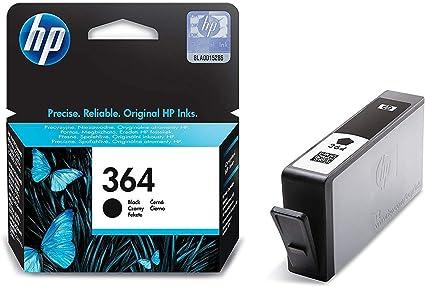 HP CB316EE 364 Cartucho de Tinta Original, 1 unidad, negro: Amazon.es: Oficina y papelería