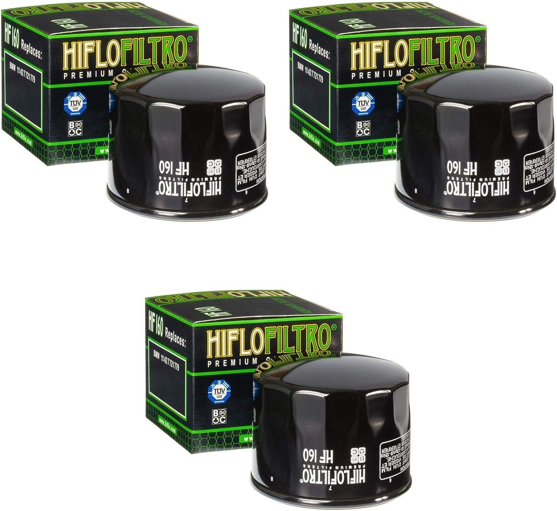 3 filtres /à huile R 1200 GS LC ABS 2013-2014 Hiflo HF160