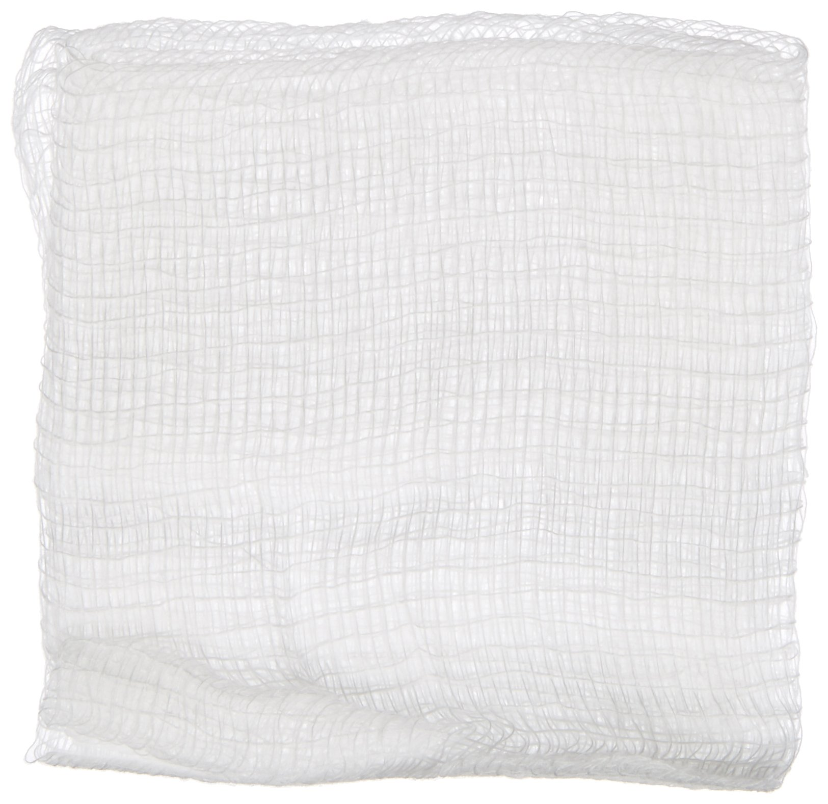 Kendall 2346 Curity Cotton Gauze Sponge, Non-Sterile, 3'' Length x 3'' Width, 12 Ply (20 Bags of 200)