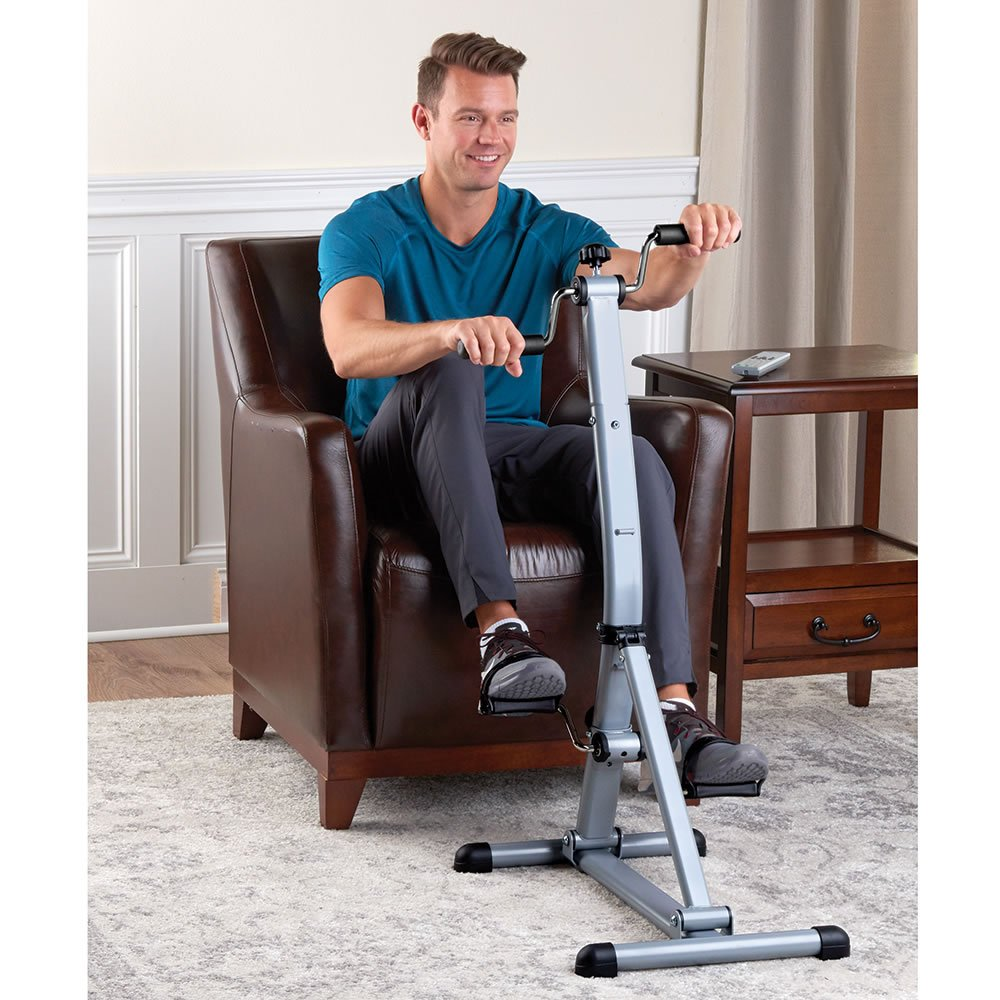 Hammacher Schlemmer The Seated Whole Body Pedaler