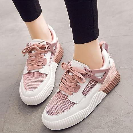 Mei Fall Damen Casual Schuhe Flache Schuhe Sport Schuhe Student Laufschuhe,  US6/EU36/UK4/CN36: Amazon.de: Sport & Freizeit